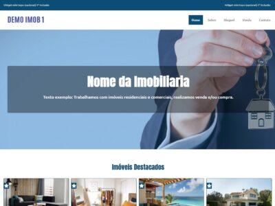 Site Catálogo de Imóveis