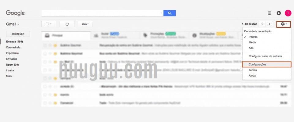 acesse a sua conta do Gmail - tela 1
