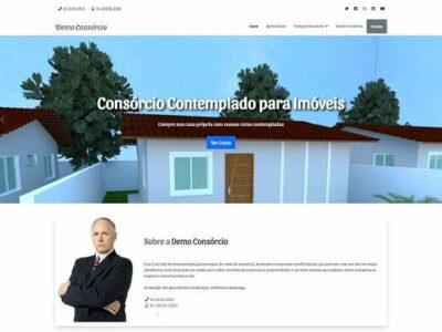 Site Catálogo de Cotas de Consórcio